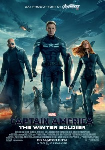 Poster del film Captain America: The Winter Soldier