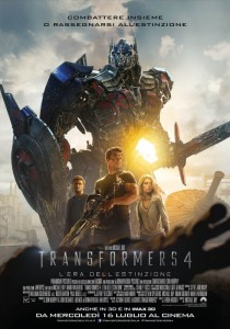 Poster del film Transformers 4 - L'Era dell'Estinzione