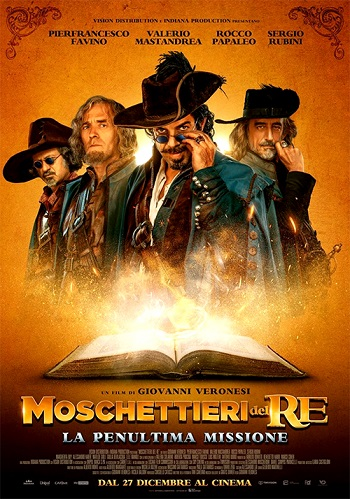 Poster for Moschettieri del Re