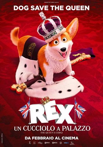 Poster film Rex - Un Cucciolo a Palazzo