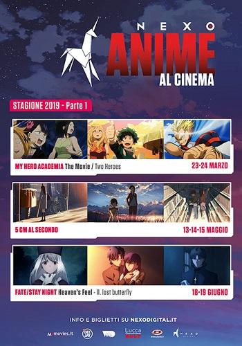 Poster film Anime al Cinema | Fate/stay Night: Heaven's Feel - 2. Lost Butterfly