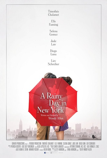 Poster film Cinema in Lingua | A Rainy Day in New York