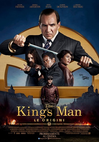Poster film The King's Man - Le Origini