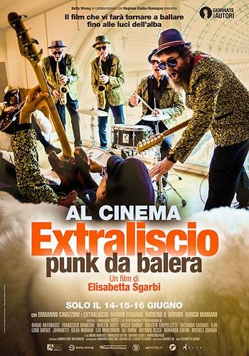 Poster film Extraliscio | Punk da balera
